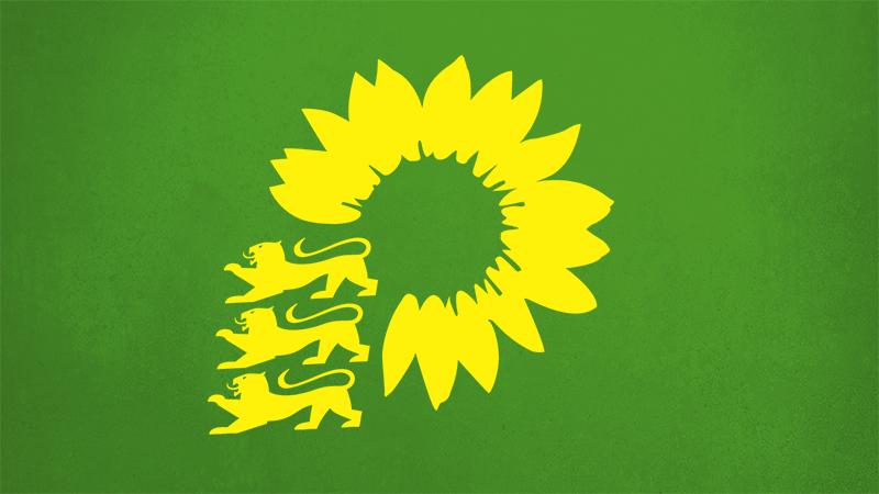 Grünes Logo.